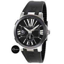 Ulysse Nardin Executive Dual Time GMT, Black Dial, Black Ceramic