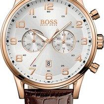 Hugo Boss Aeroliner 1512921 Herrenchronograph Klassisch schlicht