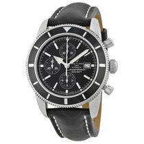 Breitling Superocean Heritage Chronograph Black Dial Black...