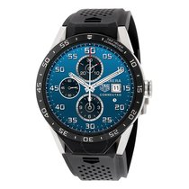 TAG Heuer Connected Titanium Vulcanized Rubber Men's Watch