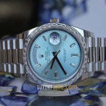 Rolex Oyster Perpetual Day-Date 40mm 950 Platinum Case