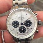 Paul Picot Gentleman Chrono GMT steel bracelet 42 mm