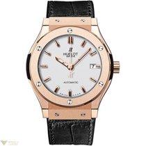Hublot Classic Fusion 18k Rose Gold Opalin Men's Watch