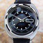 Seiko 5 Sports Black Dial Vintage Rare Stainless Steel...