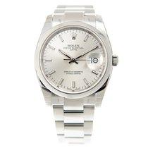 ロレックス (Rolex) Oyster Perpetual Date Stainless Steel Silver...