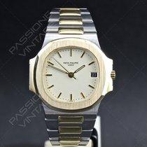 Patek Philippe Nautilus 3800 1 steel gold automatic 37 mm