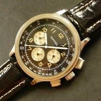 Eberhard & Co. Ref. 31032 Aviograf Chronograph Lemania...
