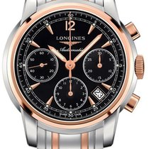 Longines The Saint-Imier 41mm L2.752.5.52.7 Steel Rose Gold...