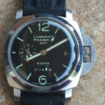 Panerai 1950 8 Days GMT PAM00233 (Only 1000pc) - Mens Watch.