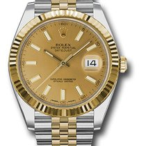 Rolex Datejust Ii 41mm Steel & Yellow Gold Jubilee...