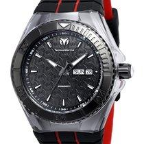Technomarine Cruise Locker Men - Black Dial - Black & Red...