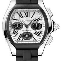 Cartier Roadster S Chronograph Stainless Steel Pvd/dlc W6206020