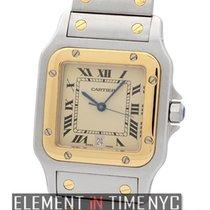 Cartier Santos Collection Santos Galbee Steel & 18k Yellow...