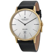 Hamilton Men's Intra-Matic Automatic Yellow Gold PVD Watch
