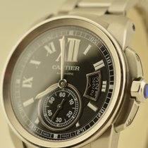Cartier CALIBRE ALL STELL BLACK DIAL LIKE NEW