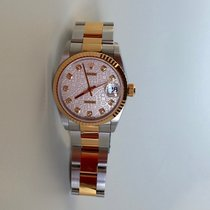Rolex OYSTER PERPETUAL LADY-DATEJUST 31 mm mit Diamanten