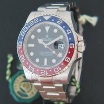 Rolex GMT Master II BLRO White Gold
