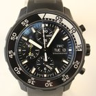 IWC Galapagos Automatic PVD Chronograph Watch Limited Ed.