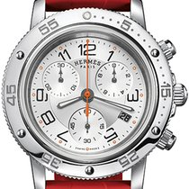 Hermès Clipper Chrono Quartz GM 36mm 039388WW00