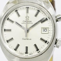 Omega Seamaster Chronostop Steel Leather Hand-winding Mens...