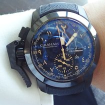 Graham Chronofighter  Oversize Sahara with Arabic Numerals -...