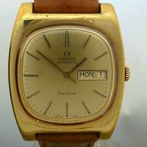 Omega vintage genève seventies auto day-date jumbo size case...