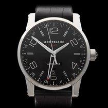 Montblanc Timewalker GMT Stainless Steel Gents 36065