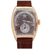 Franck Muller Grand Date 39.5mm Brown Dial in Rose Gold Watch