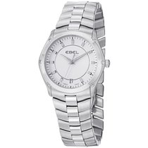 Ebel 1216019,99555Q41/163450 Classic Sport in Steel - on Steel...