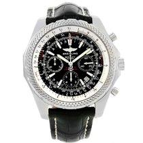 Breitling Bentley Motors Chronograph Black Dial Mens Watch A25362
