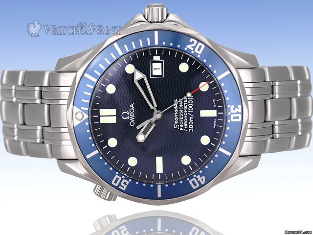 Omega Seamaster Professional Automatic 300m aka &amp;#34;James Bond&amp;#34; - Ref: 2531.80 41mm Stainless Steel - Lightly &amp;amp; Carefully Worn Condition