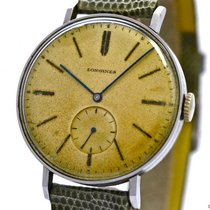 Longines , Vintage Gentleman's Watch, Stainless Steel,...