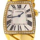 Cartier WE60020H La Dona 18k Yellow Gold Diamond Watch