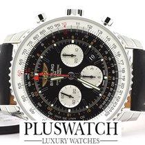 Breitling Navitmer GMT Steel Watch 48mm - AB044121 NEW