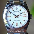 Rolex Milgauss White Dial 40mm Ref. 116400