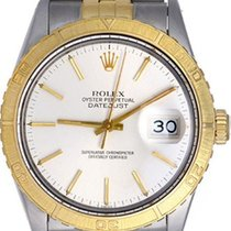 Rolex Turnograph Men's 2-Tone Steel & Gold Watch 16253...