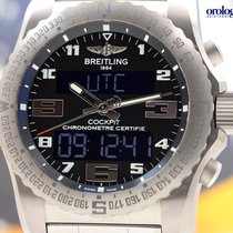 Breitling Men's Professional Cockpit B50 46mm Titanium Watch