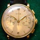 Cyma Huge 18K Gold Chronograph