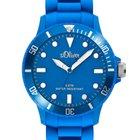 S.Oliver SO-2301-PQ Unisex-Armbanduhr blau 40 mm