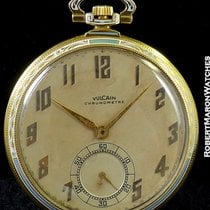 Vulcain Chronometre Enamel Pocket Watch