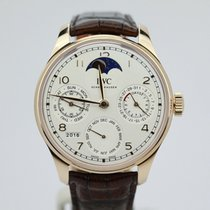 IWC Portuguese Perpetual Calendar Single Moon Rose Iw503302...