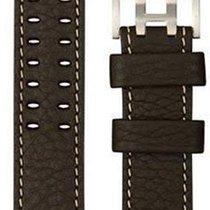Hamilton Khaki X-Wind Lederband Kalb dunkelbraun 22/22...