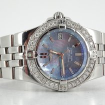 Breitling Starliner MOP dial and diamond bezel