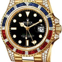 Rolex GMT-Master II Yellow Gold Jewellery