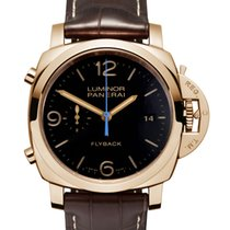 Panerai Luminor 1950 3 Days Chrono Flyback 18k Red Gold...