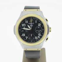 Hublot MDM Steel/Gold Chrono BlackDial (B&P2000) 40mm