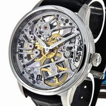 Maurice Lacroix Masterpiece Squelette Stahl Ref.MP7208-SS001-000