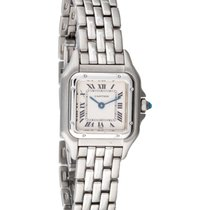 Cartier Ladies Cartier Panthere Square Shaped Stainless Steel...