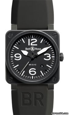 Bell &amp;amp; Ross BR 03-92 Automatic Carbon