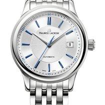 Maurice Lacroix Les Classique Date, Blue Index Silver Dial,...